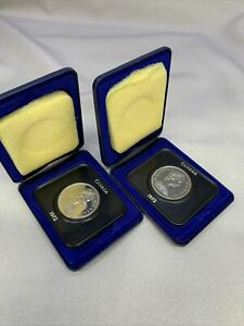 Set of 2 Candian Dollars 1972 B1116