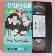 film VHS cartonata STANLIO & OLLIO FRA' DIAVOLO VideoRai 1933 (F36*) no dvd
