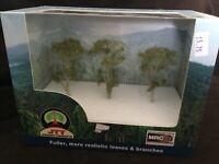 """JTT Scenery HO Scale 3"""" Gum Tree 6/pk #94412"""