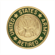 Vanguard ARMY LAPEL PIN: US. ARMY RETIRED 1968-2007
