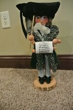 """Signed Steinbach Nutcracker Richard Wagner, Famous Composer 17"""" w/Foil Tag"""