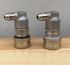 Steel 304 Metal ball lock disconnect corny cornelius keg gas liquid pair 1/4 MFL