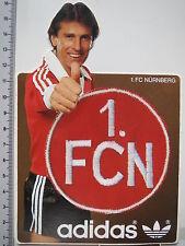 Aufkleber Sticker Adidas - Bundesliga - 80er - 1. FC Nürnberg (1894)