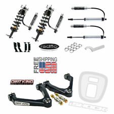 Radflo Adj Shocks Dirt King Mid-Travel Chevy Silverado GMC Sierra 07-18 Package