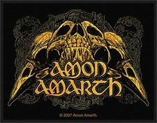 AMON AMARTH - RAVEN SKULL - WOVEN PATCH - BRAND NEW - MUSIC 2231