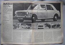 1969 Austin 1300 Super de luxe Original Autocar magazine Road test