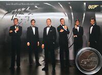 New James Bond royal mint £5 gift set