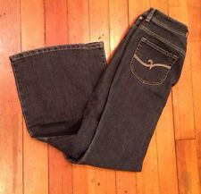 "Chicos Chico's Sz. 0.5 (XS Size 6) denim Jeans 28"" Inseam Dark Wash EUC"