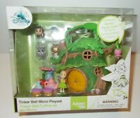 DISNEY STORE ANIMATORS' COLLECTION LITTLES TINKER BELL PLAYSET - NEW IN BOX
