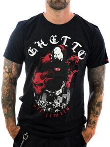 Ghetto off Limits Shirt Donna by Vendetta 190314 schwarz Männer T-Shirt XL