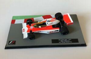 F1 Collection 1:43 McLaren M23 Gilles Villeneuve 1977 No Spark Minichamps