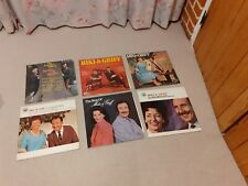 Collection of 7 Miki & Griff vinyl LPs PERSONALLY AUTOGRAPHED British Country