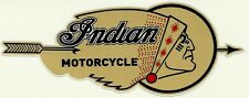 """""""INDIAN MOTORCYCLE"""" Vinyl Decal Sticker SCOUT CHIEF HOG CAFE RACER CHOPPER"""