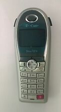 Handteil, Mobilteil Telekom Sinus 702K Color Dunkelblau Silber Neuwertig