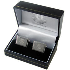 Everton Fc Stainless Steel Metal Cufflinks In Executive Gift Box