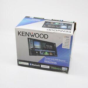 "Kenwood - 6.2"" - Apple CarPlay™ - Built-in Bluetooth - In-Dash CD/DVD/D DDX6703S"
