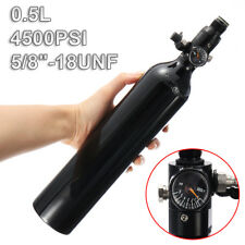 Paintball PCP Cylinder Tank 4500psi 0.5L Compressed Air Bottle With Regulator