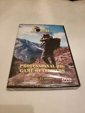 Professional Big Game Outfitters (Dvd 2009) Total Outdoor Adventures New