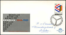 Netherlands 1969 Benelux Customs Union FDC First Day Cover #C27390