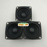 2pcs 52mm 4ohm 4Ω 10W full range speaker loudspeaker HiFi audio Part Rubber edge