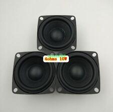 2pcs 52mm 4ohm 4Ω 10W full range speaker loudspeaker Bluetooth audio Rubber edge