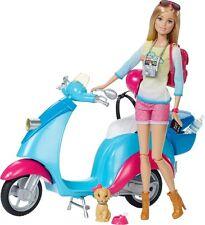 barbie pink passport travel puppe mit roller spielturm