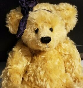 SUE NEWLIN 15 INCH FULLY JOINTED MOHAIR BEAR NO RESERVE