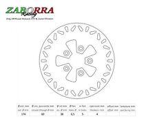 ITALJET FORMULA 50 125 DRAGSTER 50 125 180 DISCO FRENO ANTERIORE DF4028 NEWFREN
