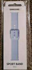 Genuine Brand New Sealed Samsung Galaxy Active1/Active2 Sports Band Blue 20mm