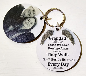 IN LOVING MEMORY GIFT, A PIECE OF MY HEART KEYRING MUM, DAD,NANA,SON