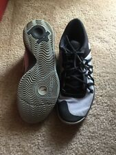 Men's Nike Kd Zoom Black/gray Basketball shoes size 9.5 Great Condition