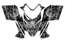 POLARIS SHIFT RMK DRAGON wrap graphics sled deco kit #9500 Metal Zombie