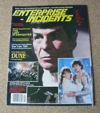 ENTERPRISE INCIDENTS AMERICAN STAR TREK MAGAZINE. MAY 1984.