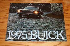Original 1975 Buick Full Line Deluxe Sales Brochure 75 Riviera LeSabre Electra