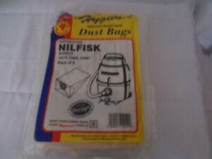Electruepart Vacuum Dust Bags for Nilfisk GA70 GD80/90 GM90 GS80/90  (Pack of 5)