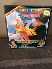 1983 Tonka Fall Guy Stunt Plane Lee Majors As Colt Seavers. Unused Brand New WOW