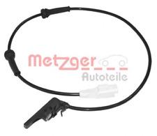 Sensor, Raddrehzahl für Bremsanlage Hinterachse METZGER 0900105
