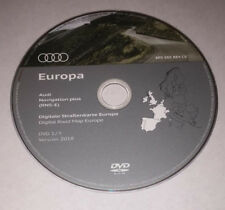 GENUINE 2018-2019 AUDI RNS-E SAT NAV MAP UPDATE DISC EUROPE UK DVD WEST