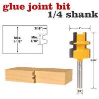 """1/4"""" Schaft Oberfräse Finger Joint Kleber Router Bit Holzbearbeitung Fräser"""