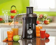 Hamilton Beach Juicer 67601a Big Mouth Health Juice Extractor Black