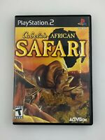 Cabela's African Safari - Playstation 2 PS2 Game - Complete & Tested