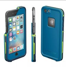 New Lifeproof Fre Waterproof Case For Apple Iphone 6/6s Banzai Blue