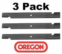 "3 Scag Commercial 72/"" Compatible Lawn Mower Blades 91-627 Replace 48112"