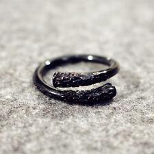 Men Vintage Monkey King Bar Finger Rings Metal Open Ring Women Fashion Jewelry