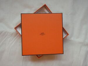 Hermes box from belt with tissue empty orange gift quality 1178
