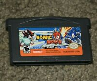Sonic Battle Gameboy Advance Nintendo GBA CART ONLY Authentic