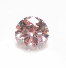 Pink Diamond - VS1 0.20ct ARGYLE Natural Loose Fancy Purple Pink Cert Round PC1