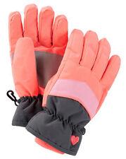 New OshKosh Ski Gloves Winter Glove size 7-14 year Kid Girl NWT Neon Coral Pink