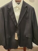 Mens Red Sky Santa Fe Western Style Blazer/Jacket - Size 52S Grey Check