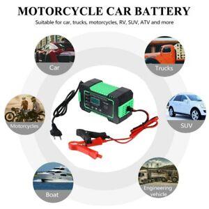 Chargeur de batterie de voiture Intelligent Rapide Auto/Moto Car 6A/12V